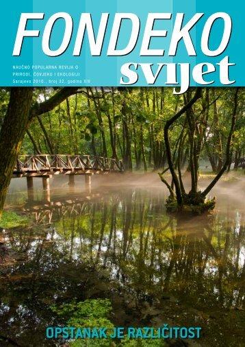 Naučno popularna revija o prirodi, čovjeku i ekologiji broj 32