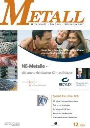 Zink - Metall-web.de