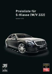 S-Klasse W222