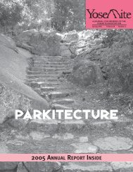 """Parkitecture"" 68(2):3-5 by Charles Palmer - Yosemite Online"