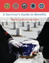 A Survivor's Guide to Benefits - The USARAK Home Page
