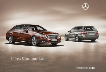 E-Class Saloon and Estate