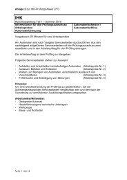 Anlage 2 zur IHK-Prüfungs-News 2/10 Abschlussprüfung Teil 1 ...