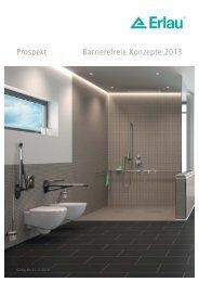 Prospekt Barrierefreie Konzepte 2013 - Meiko (Suisse) AG