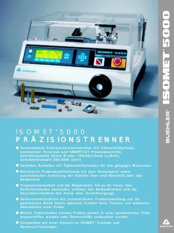 isomet5000.pdf - Buehler GmbH