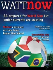 download a PDF of the full May 2010 issue - Wattnow
