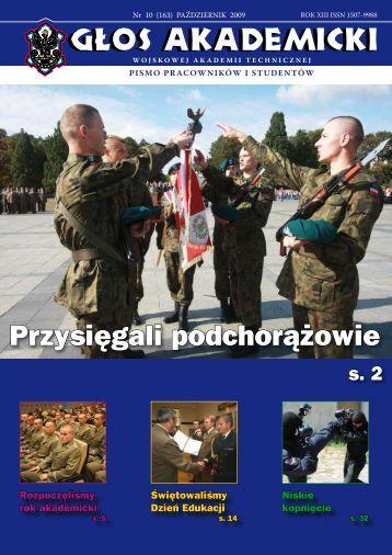 Przysięgali podchorążowie - Wojskowa Akademia Techniczna