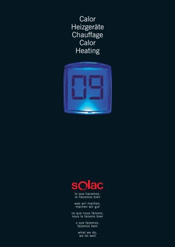 Solac 2009 Calor Mul..