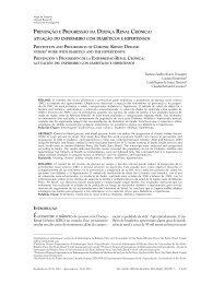 Prevenção e Progressão da Doença Renal Crônica - Faculdade de ...