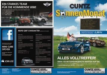 Alles Volltreffer! - Autohaus Cuntz