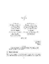 ¡ £ F. Brezzi Dipartimento di Matematica Universit Sa di Pavia ... - CCM
