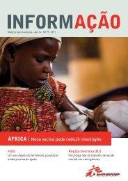 ÁfricA | Nova vacina pode reduzir meningite - Médicos Sem Fronteiras