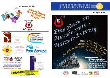 Konzertprogramm - mvmatzen.at