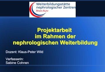 Sabine Cohnen - WB-nephro.de