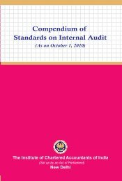 Compendium of Standards on Internal Audit - CAalley.com