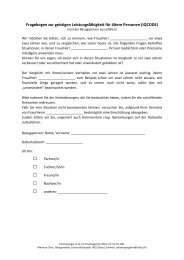 Fragebogen - congress-info.ch | Home