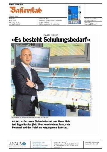 Baslerstab - Basel United AG