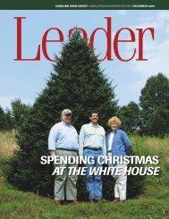 spending christmas at the white house - Carolina Farm Credit