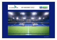 VIP-ANGEBOT 2012 - Basel United AG