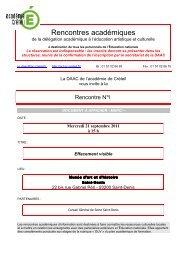 21 SEPT EFFACEMENT VISIBLE - DAAC - Académie de Créteil