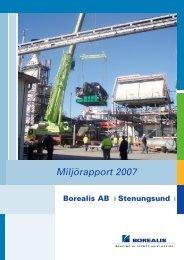 Miljörapport 2007