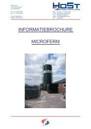 INFORMATIEBROCHURE MICROFERM - HoSt