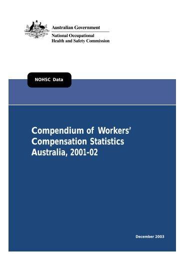 Compendium of Workers' Compensation Statistics 2001-2002