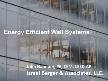 Energy Efficient Wall Systems - Con Edison Commercial & Industrial ...