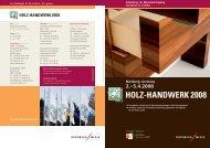 2.–5.4.2008 Nürnberg, Germany - Holz-Handwerk