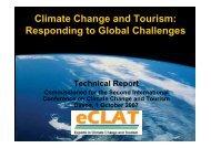 Climate Change and Tourism - Iddri