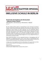 zum Aufruf oder Download - Landeselternausschuss Berlin