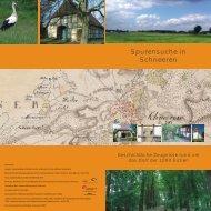 Spurensuche in Schneeren - Heimatverein Schneeren e.V.