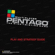 PLAY AND STRATEGY GUIDE - Mindtwister USA