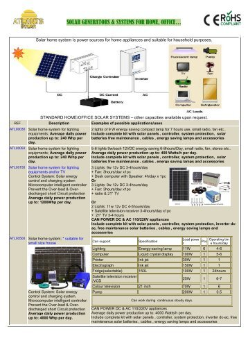 solar generators & systems for home, office… - Atlants.net