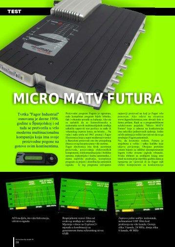 MICRO MATV FUTURA - M+S doo