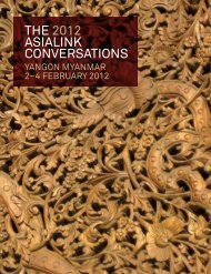 the 2012 asialink conversations - Asialink - University of Melbourne