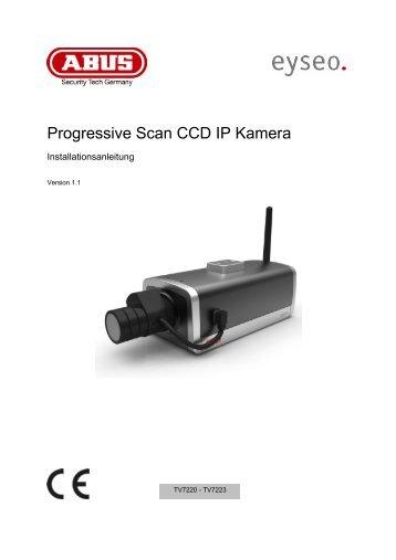 Progressive Scan CCD IP Kamera