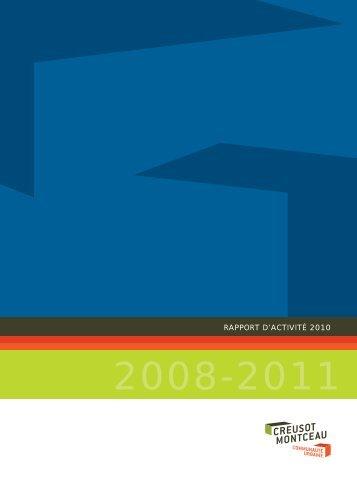 RAPPORT D'ACTIVITÉ 2010 - Creusot-Montceau TV