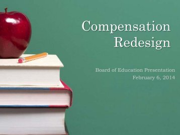 PRESENTATION BOE Compensation Redesign February 6 2014
