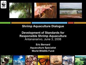 Shrimp Aquaculture Dialogue Development of Standards for ...