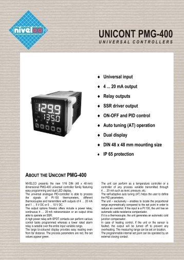 Unicont PM-400 - nivelco
