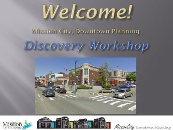 Fort St. John Downtown Revitalization - District of Mission