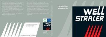 GAS radiatoren Radiateurs GAZ - Well Straler