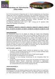 Schulordnung – Polytechnische Schule Wildon