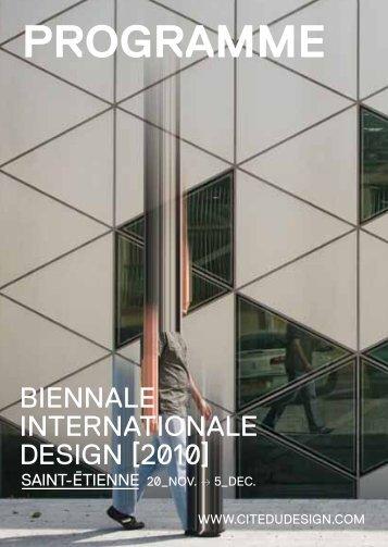 Télécharger le programme Biennale 2010 [pdf]