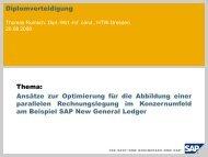 Diplomverteidigung 20.08.2008 HTW Dresden, Fachbereich ...
