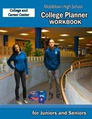 College Planner workbook - Middletown City School District
