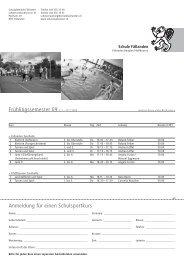 Schulsport - Schule Fällanden