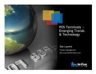 POS Terminals — Emerging Trends & Technology