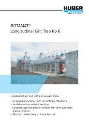 ROTAMAT® Longitudinal Grit Trap Ro 6